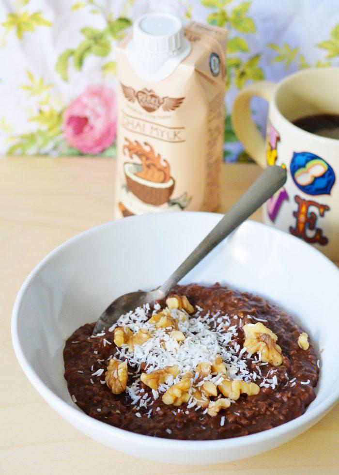 Recipe: Chewy Rebel Kitchen Chai Spiced Porridge