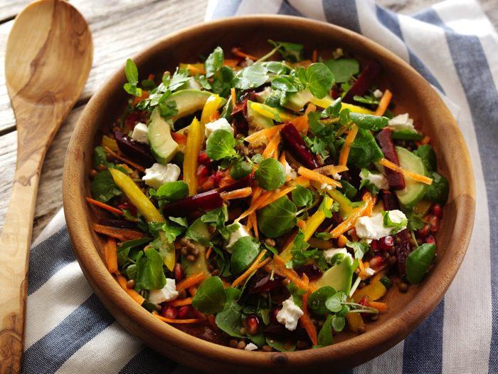 The Ultimate Rainbow Salad