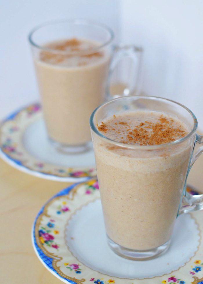 Frozen chai latte smoothie 5