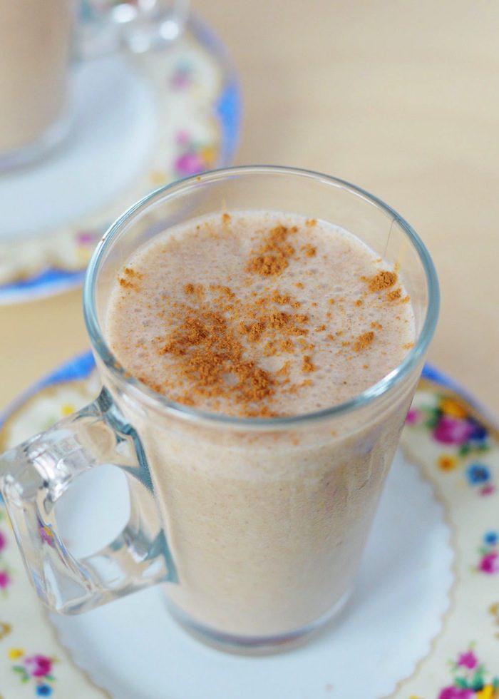 Frozen chai latte smoothie 7