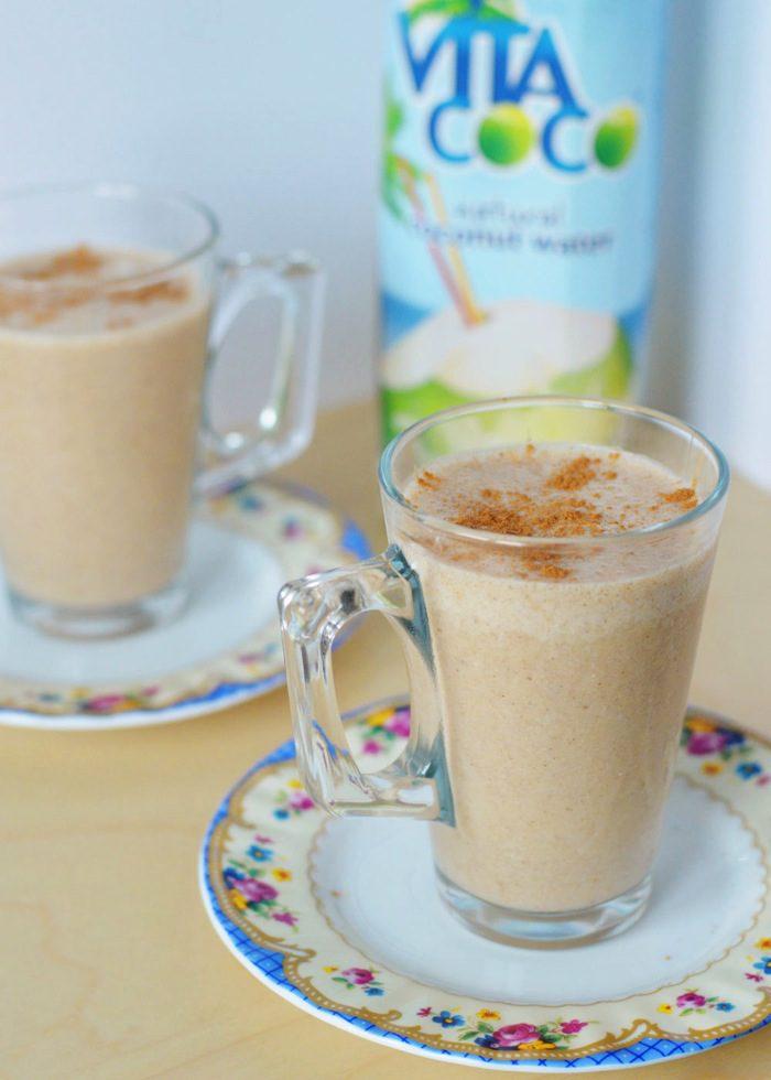 Frozen chai latte smoothie 8