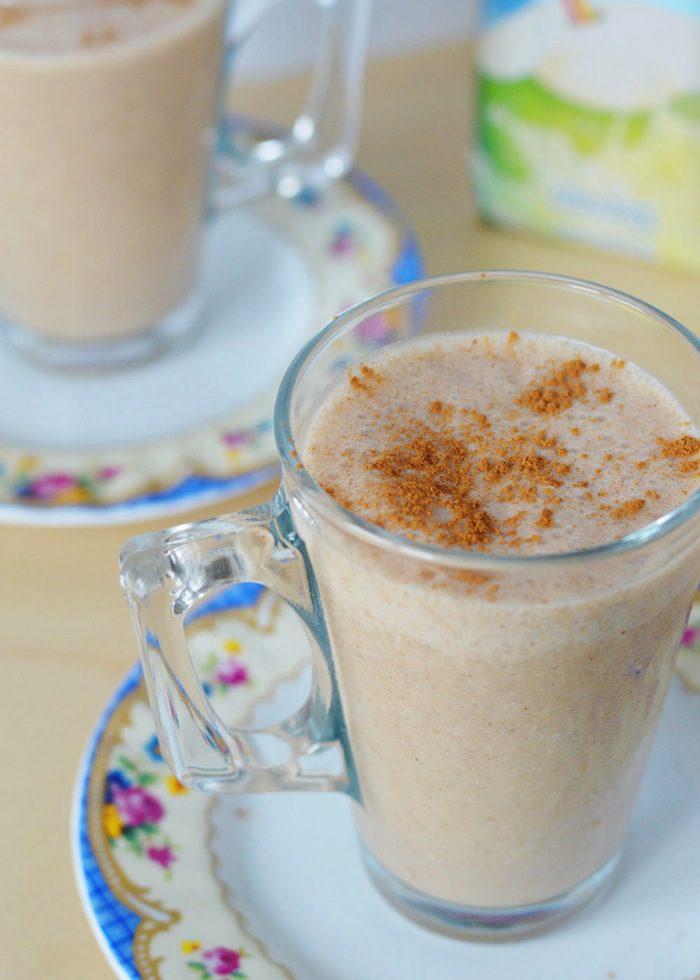 Frozen chai latte smoothie 9