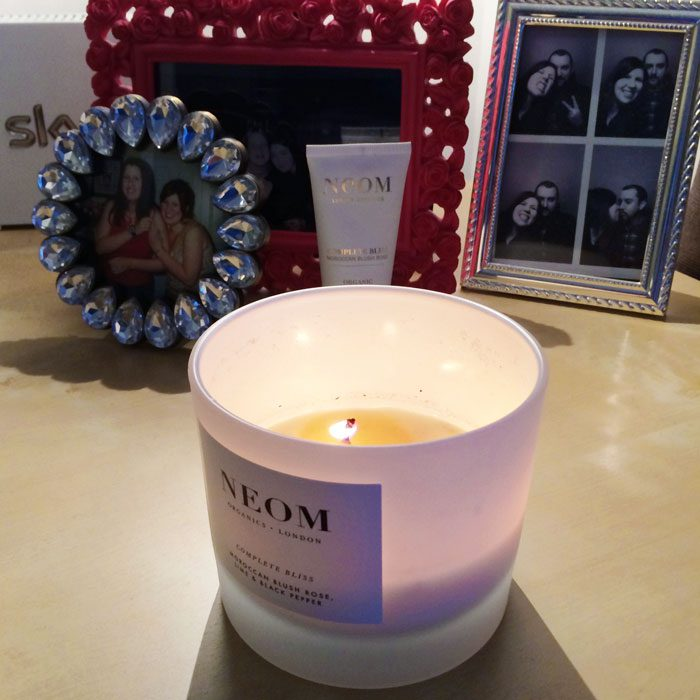 Neom scented candle