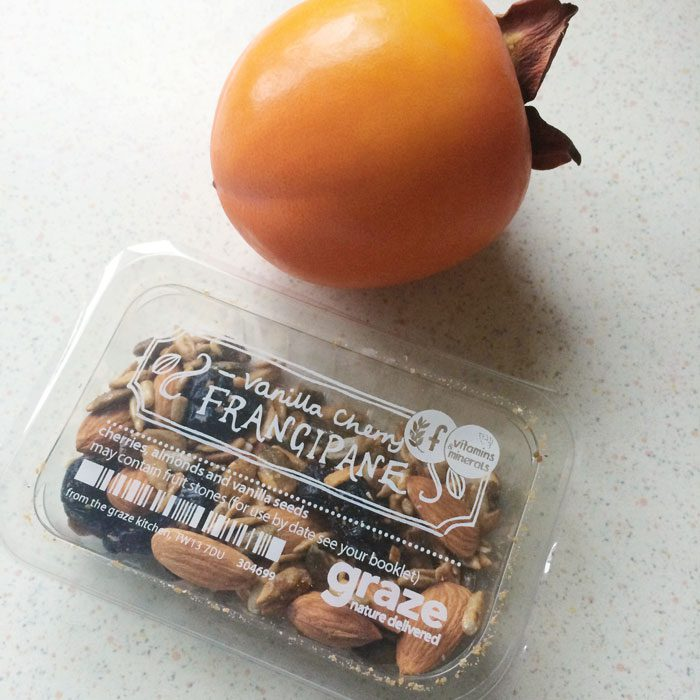 Persimmon and graze box