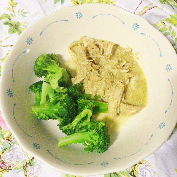 Slow cooker thai green chicken