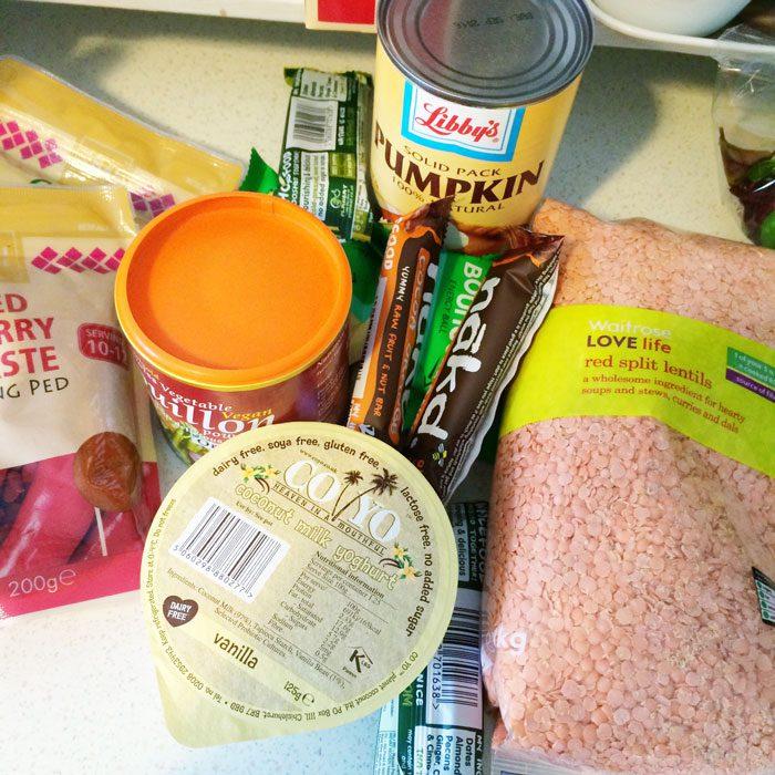 Waitrose foods