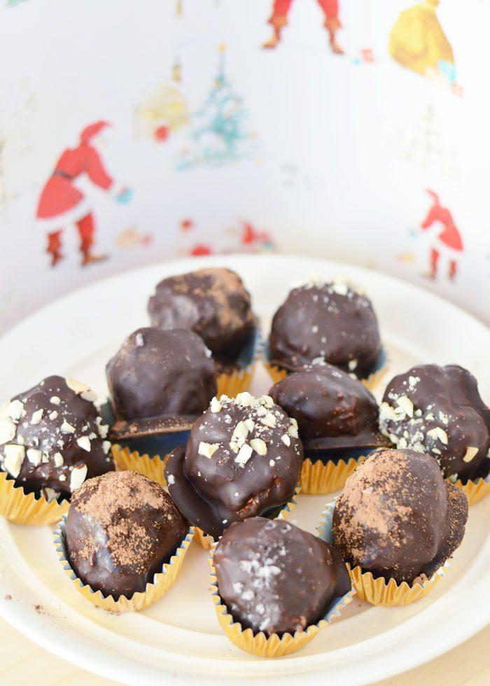Cashew coconut truffles 5