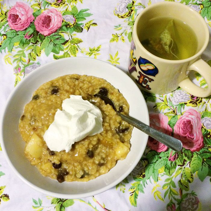 Festive porridge