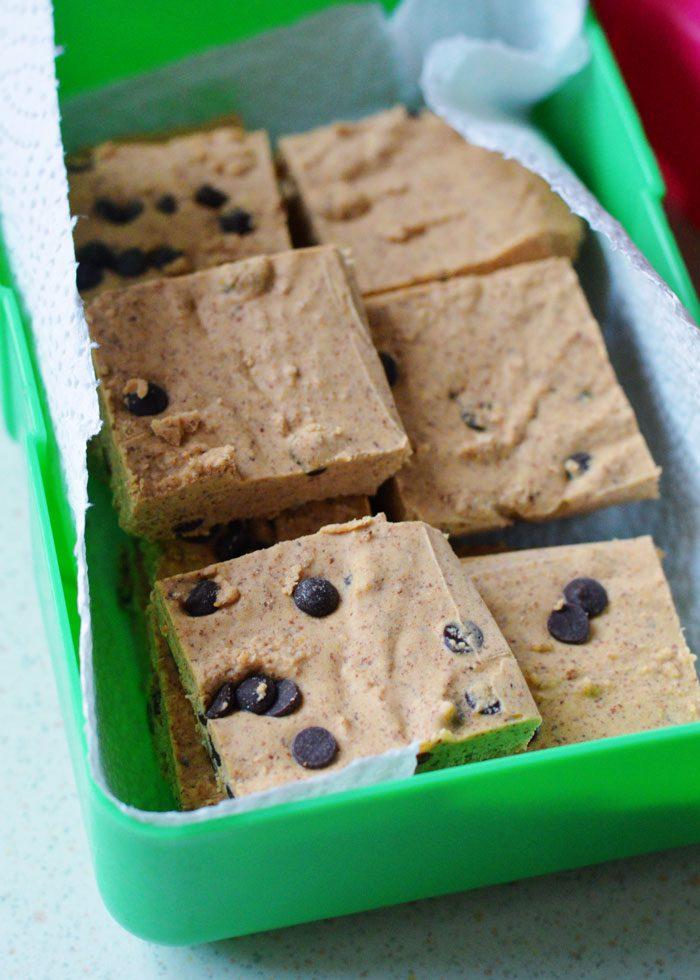 Choc chip cookie dough fudge 2