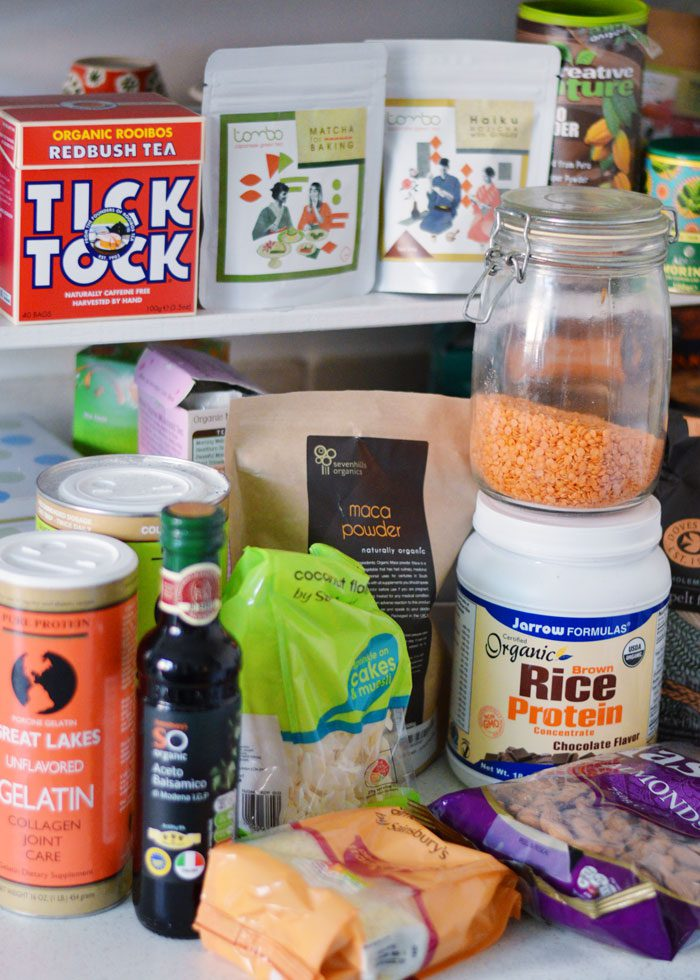 The ultimate healthy kitchen cupboard list