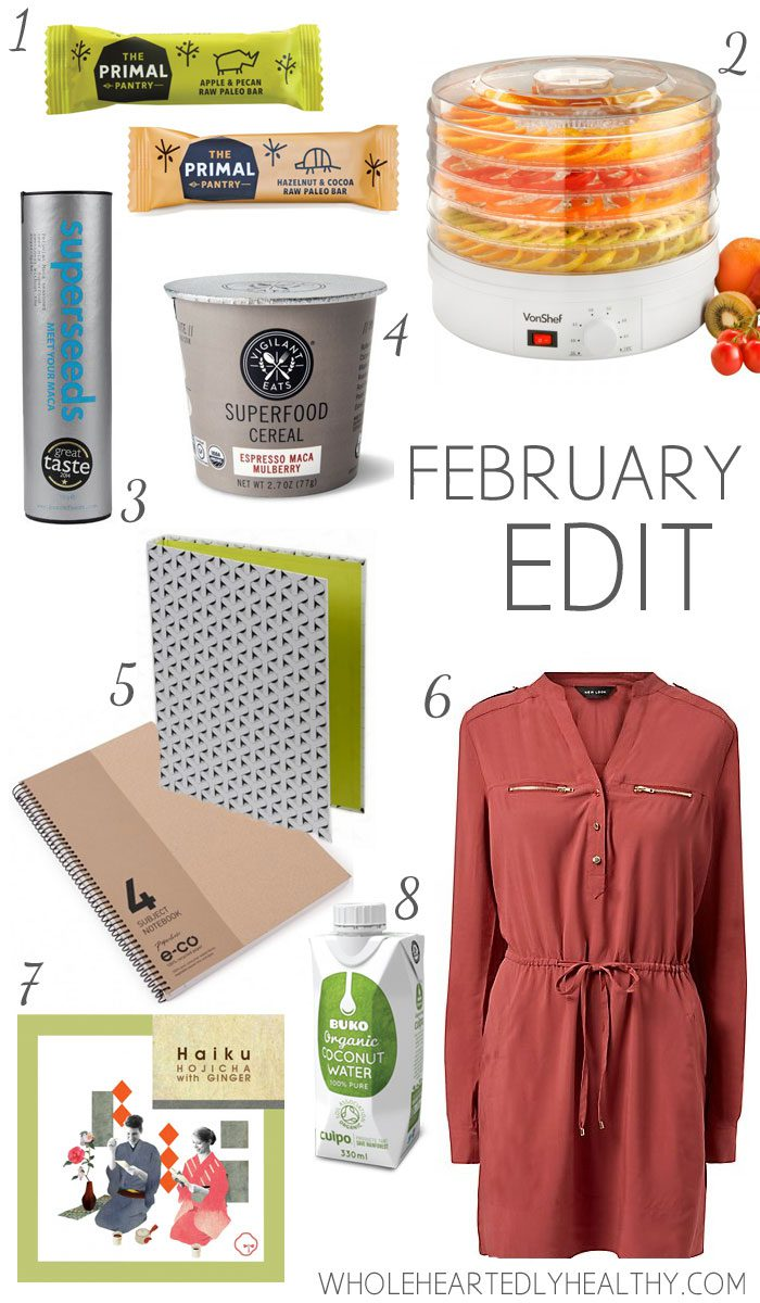 February Edit Wholeheartedly Healthy