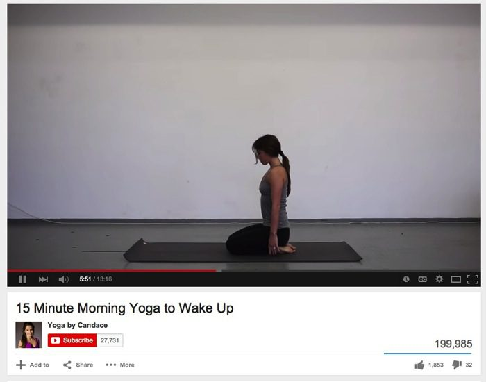 15 Minute Morning Yoga to Wake Up YouTube
