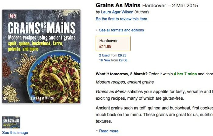 Grains As Mains Amazon co uk Laura Agar Wilson 9780241185377 Books
