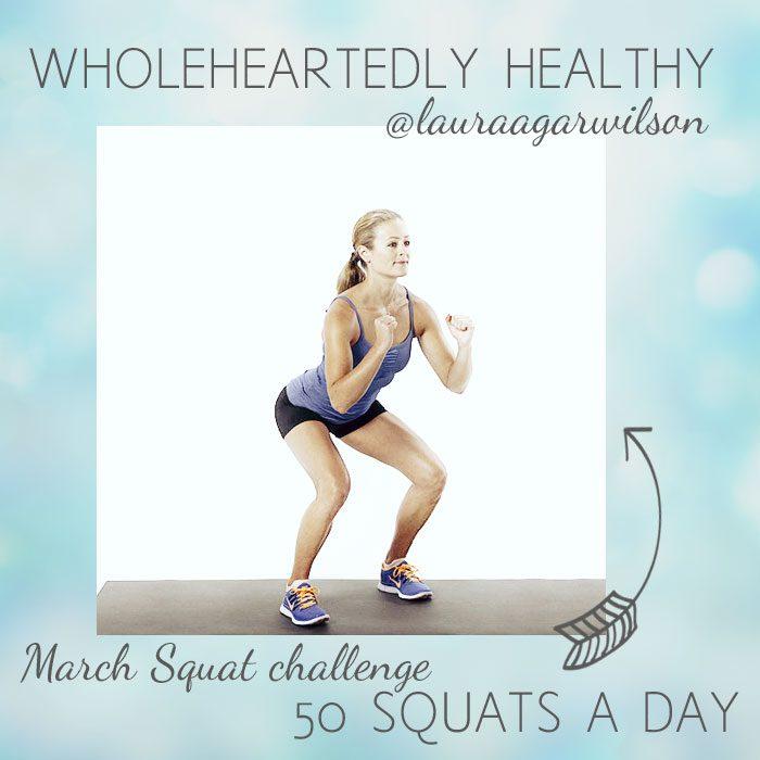 March squat challenge