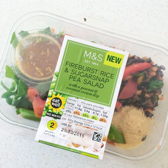 Marks and spencer rice salad