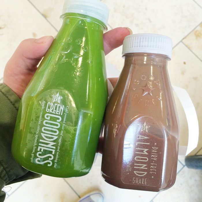 Pret healthy drinks