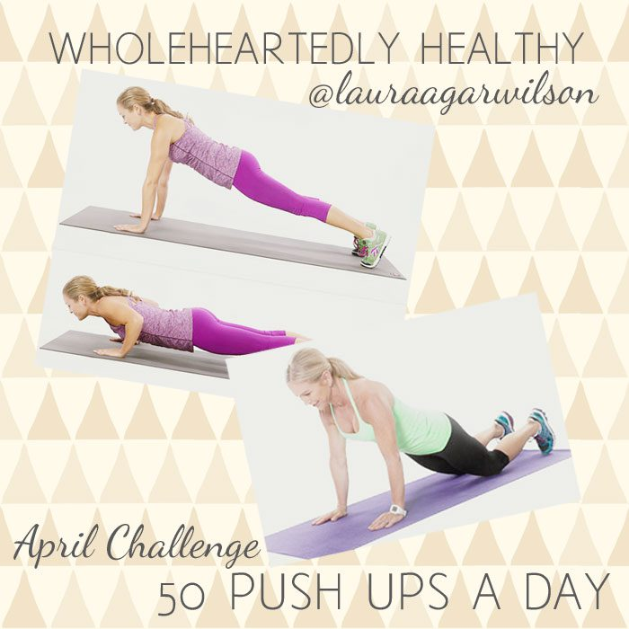 Push up april