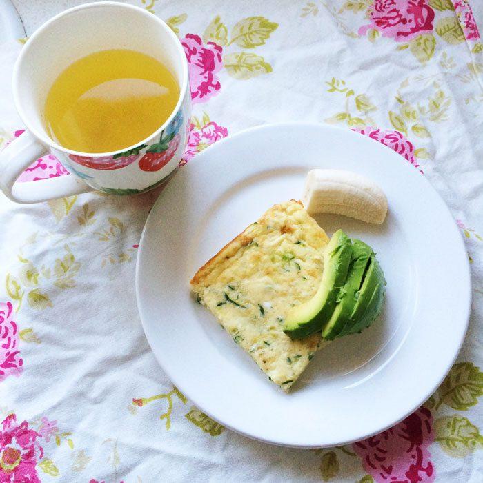 Quiche breakfast