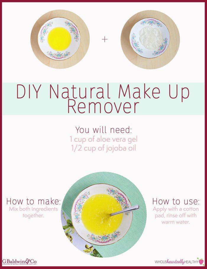 Make up remover vertical