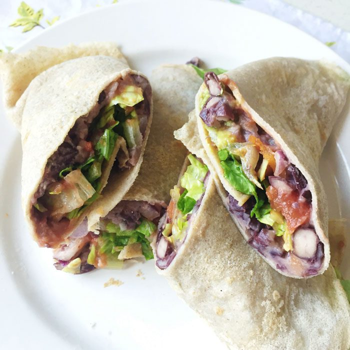 Mexican buckwheat wraps