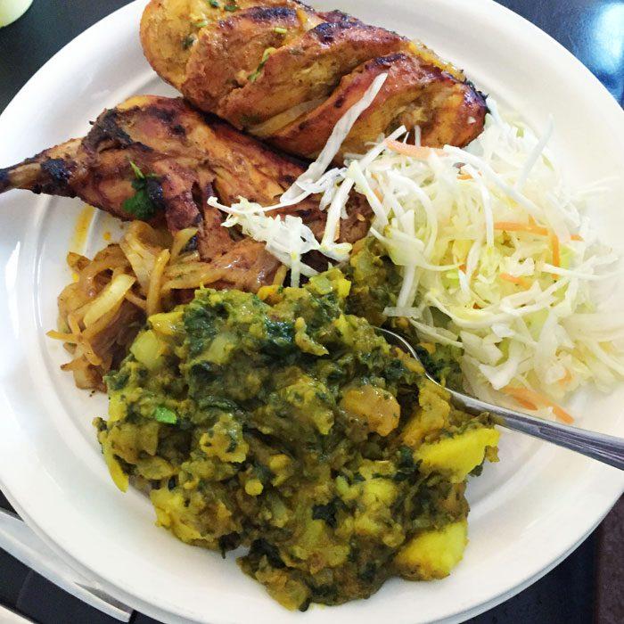 Indian takeaway tandoori chicken