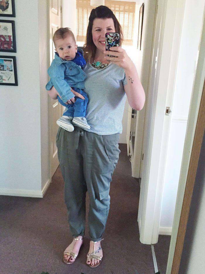 Mama and baby fashion