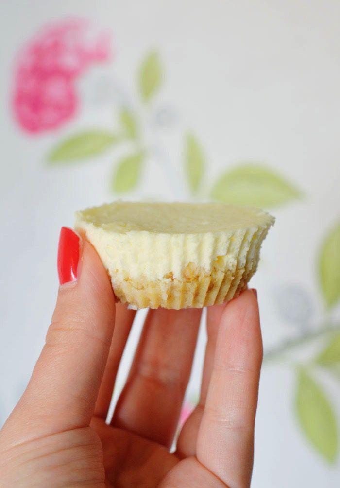 Healthy mini baked cheesecakes 5