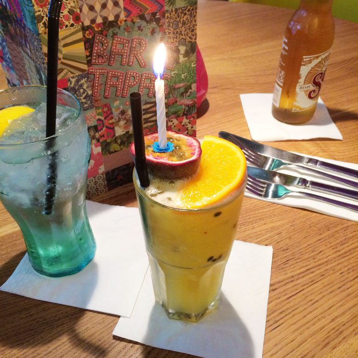 Birthday mocktail