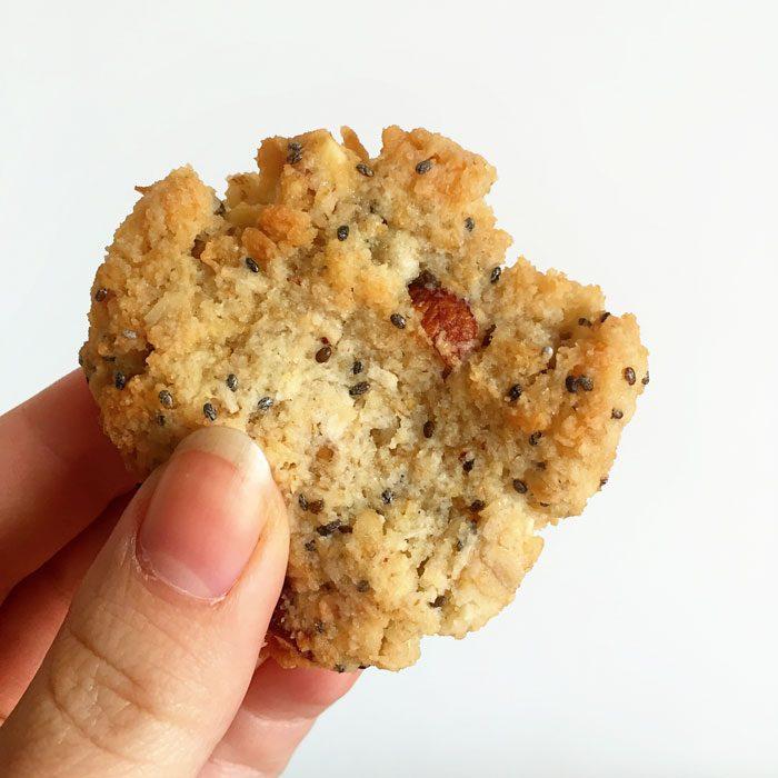 Almnd coconut cookies