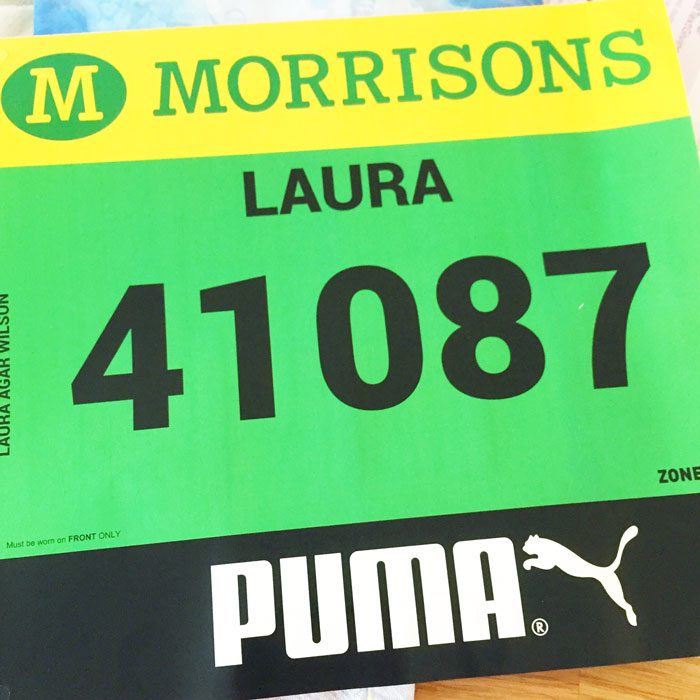 Great north run number
