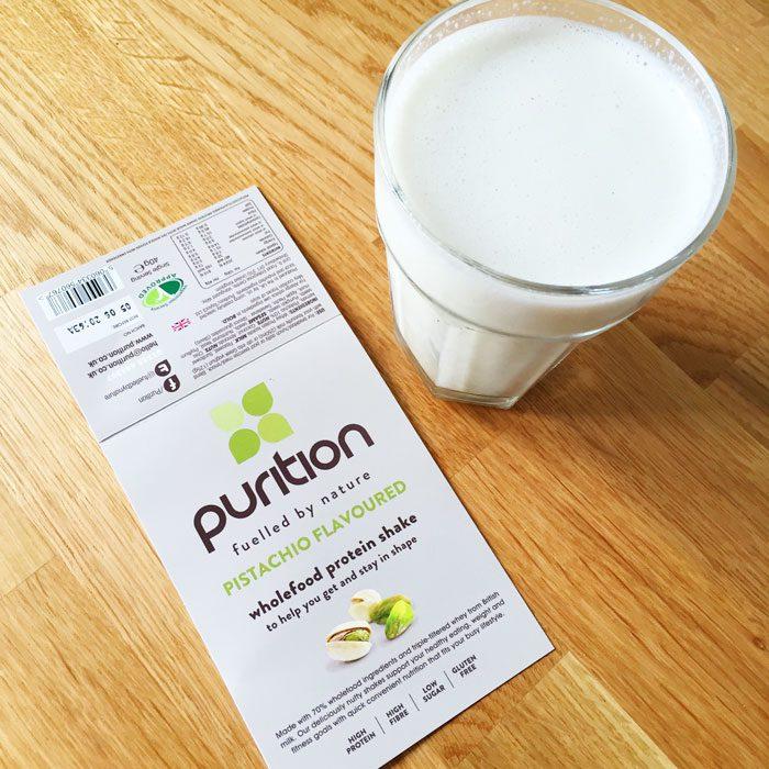Puritrition shake