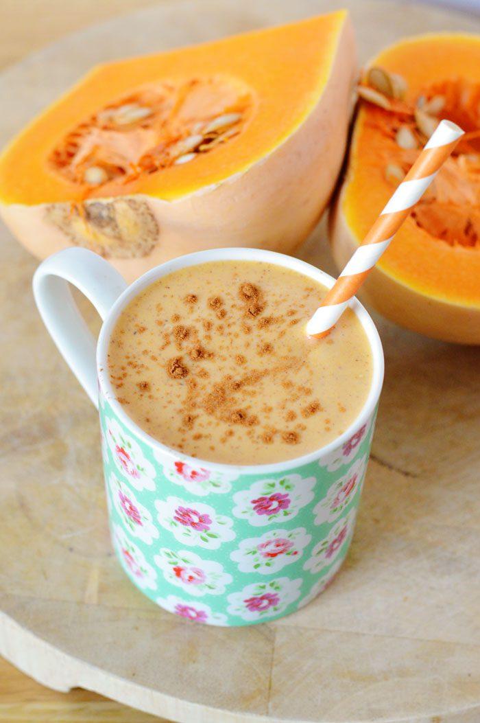 Butternut squash smoothie 2