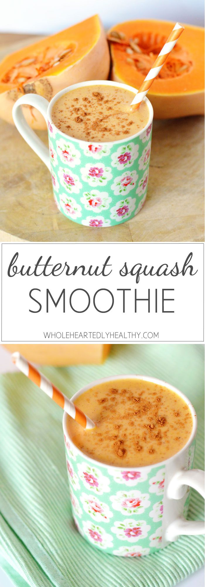 Butternut squash smoothie recipe