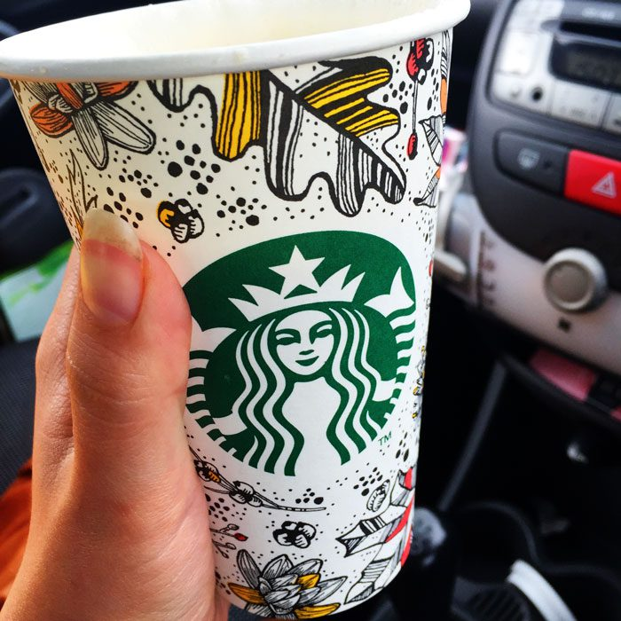 Starbucks autumn cup