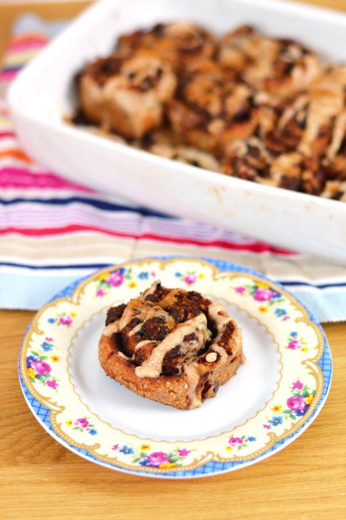 Healthier cinnamon rolls recipe