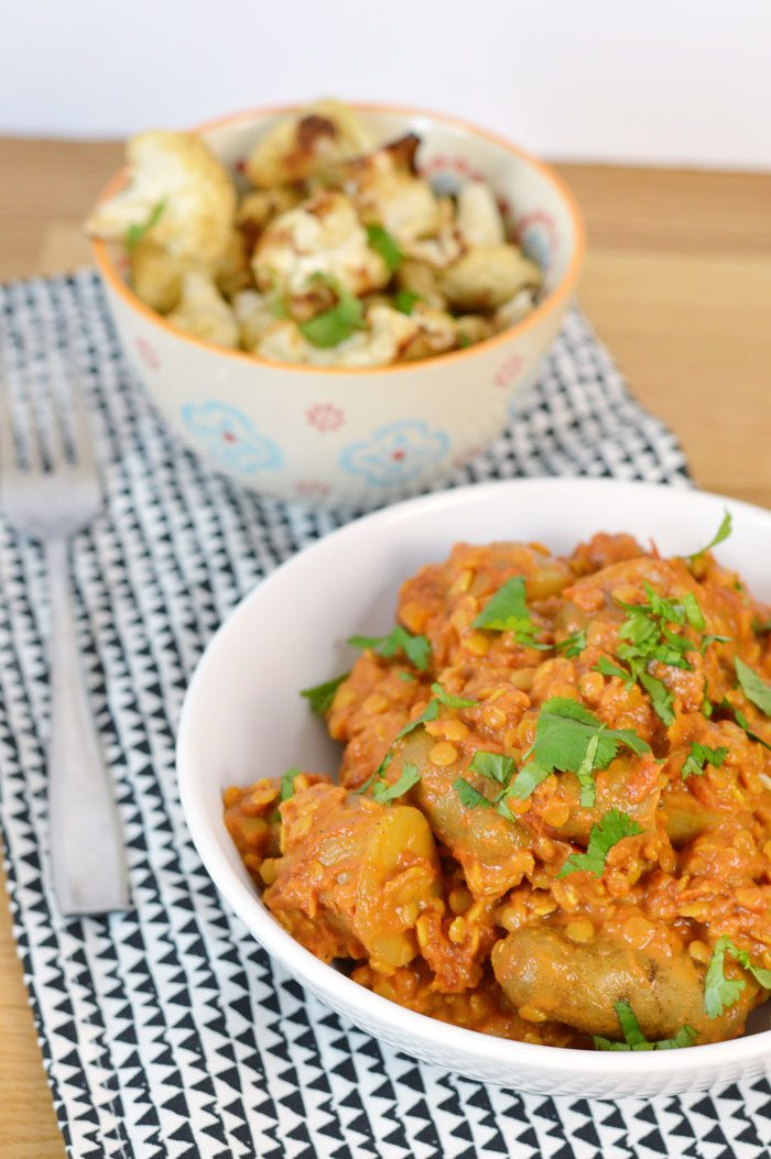 Potatoes: More than a bit on the side. Potato and Lentil Curry Recipe