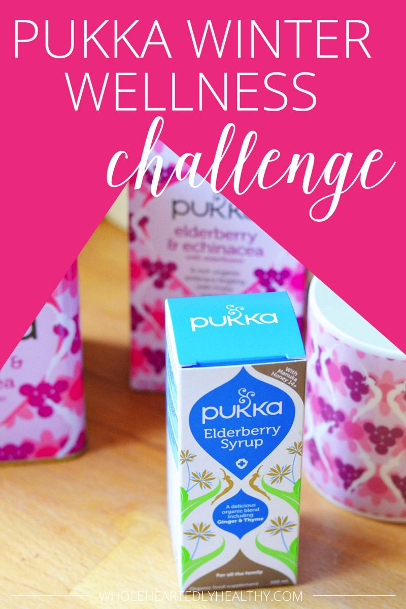 Pukka winter wellness challenge