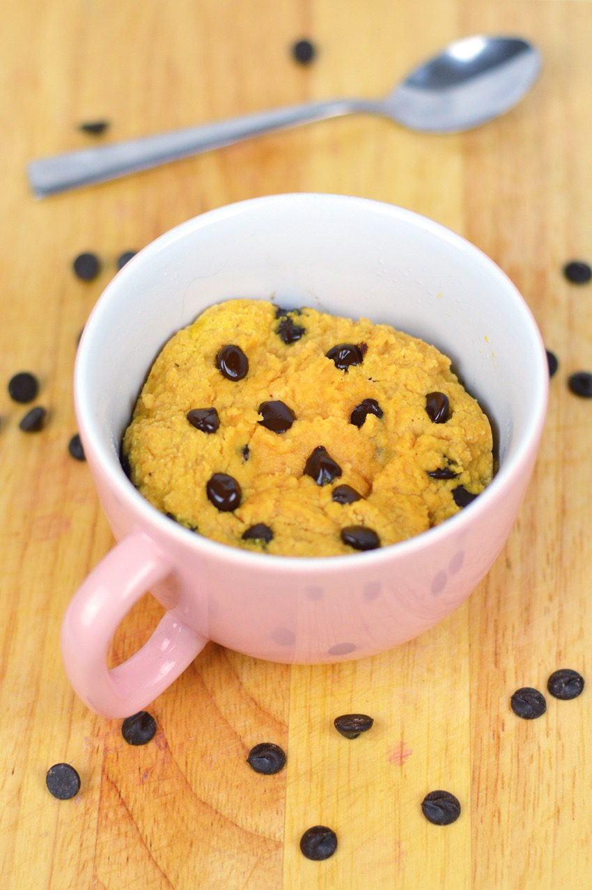 Pumpkin choc chip mug cake recipe 2