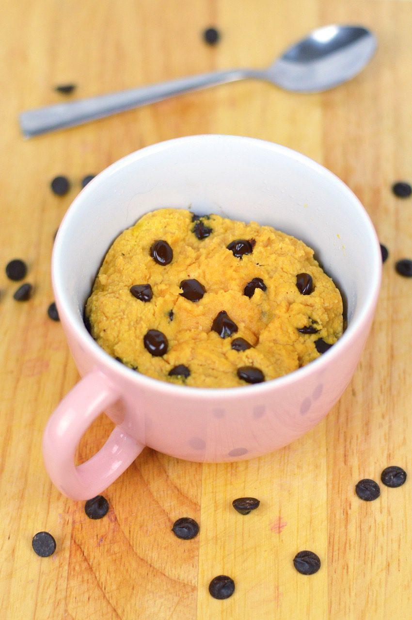 Pumpkin choc chip mug cake recipe 2