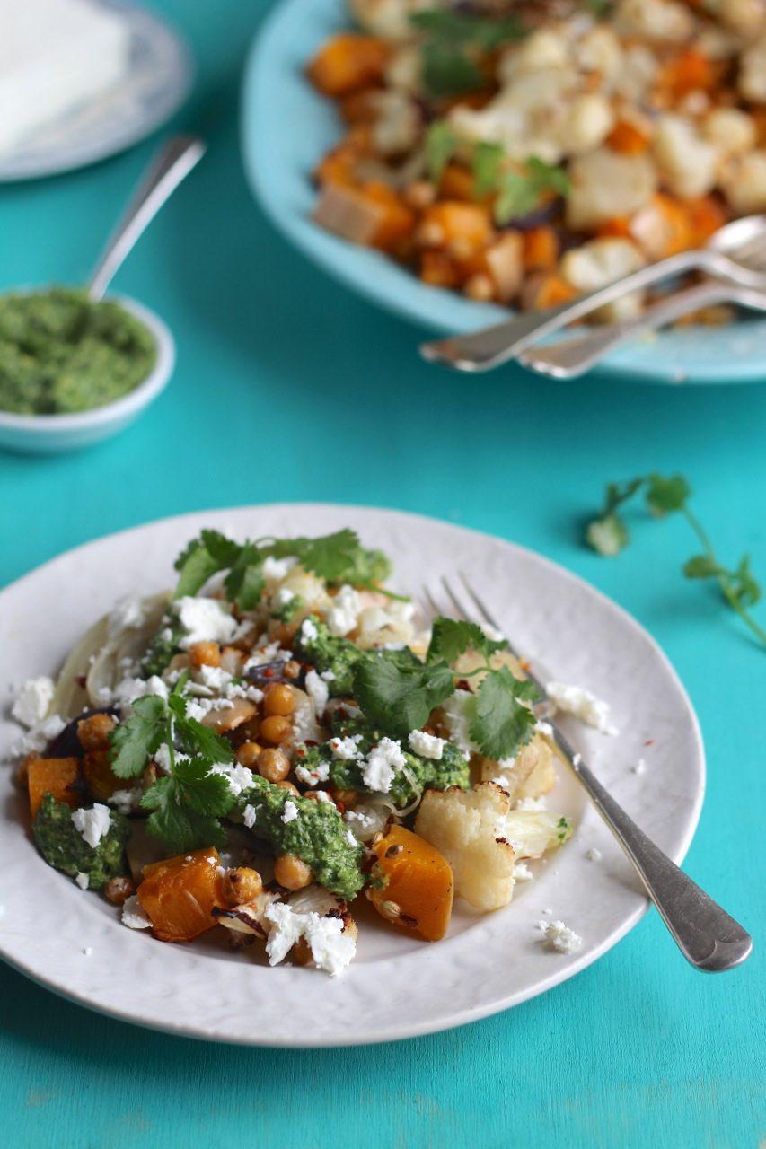 Squash cauliflower salad Natural Kitchen Adventures HERO