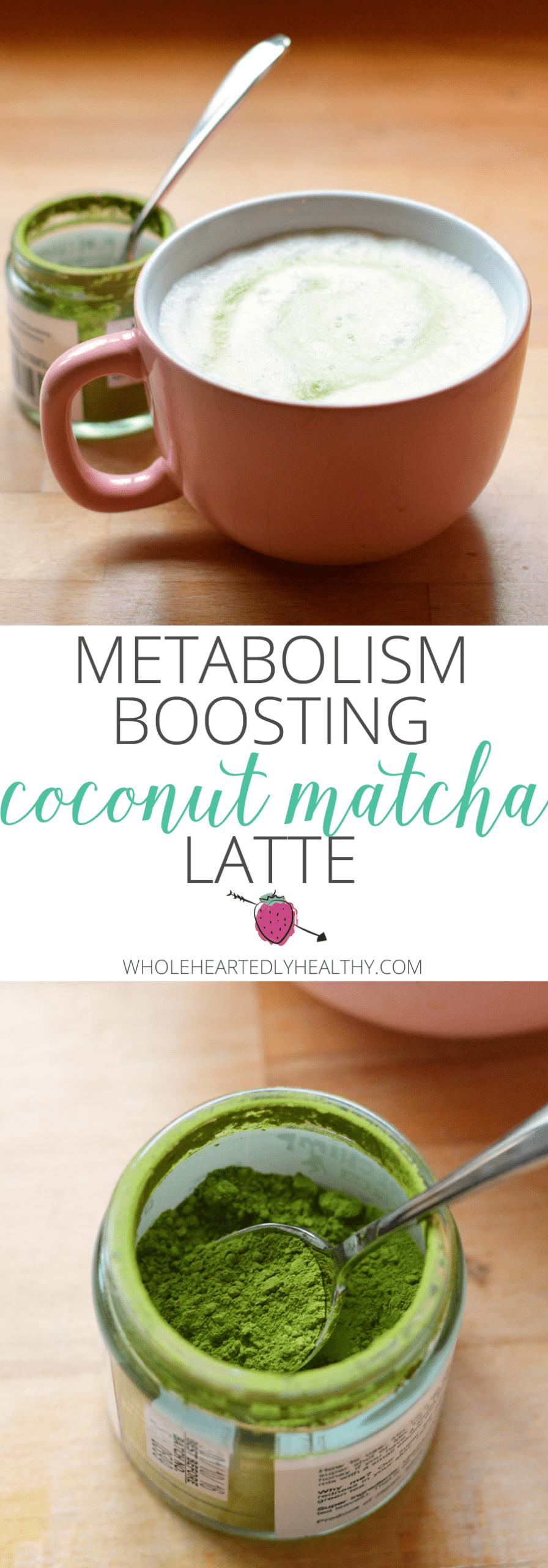 Coconut matcha latte recipe