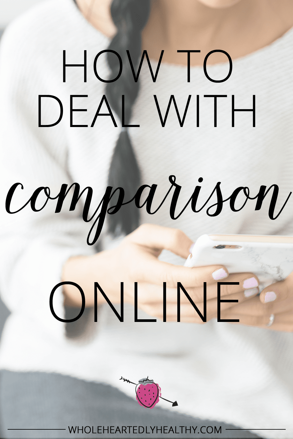 How to deal with comparison online