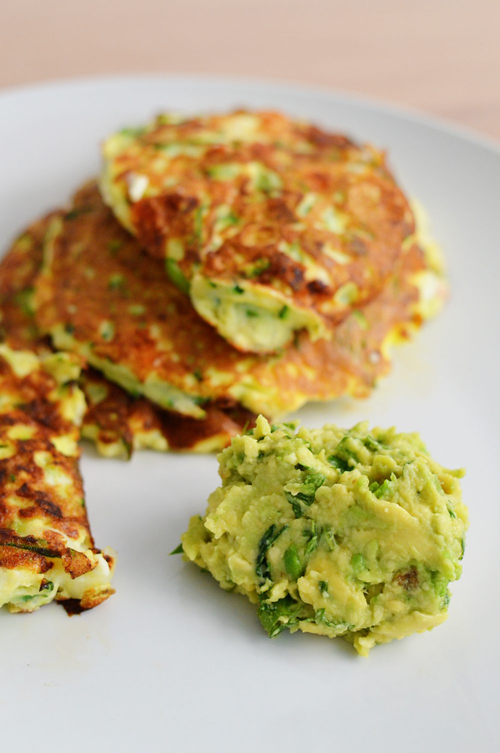 Courgette and feta fritters 1