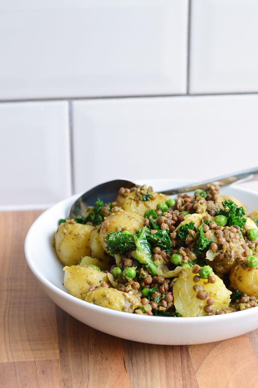 Potato pesto salad 3