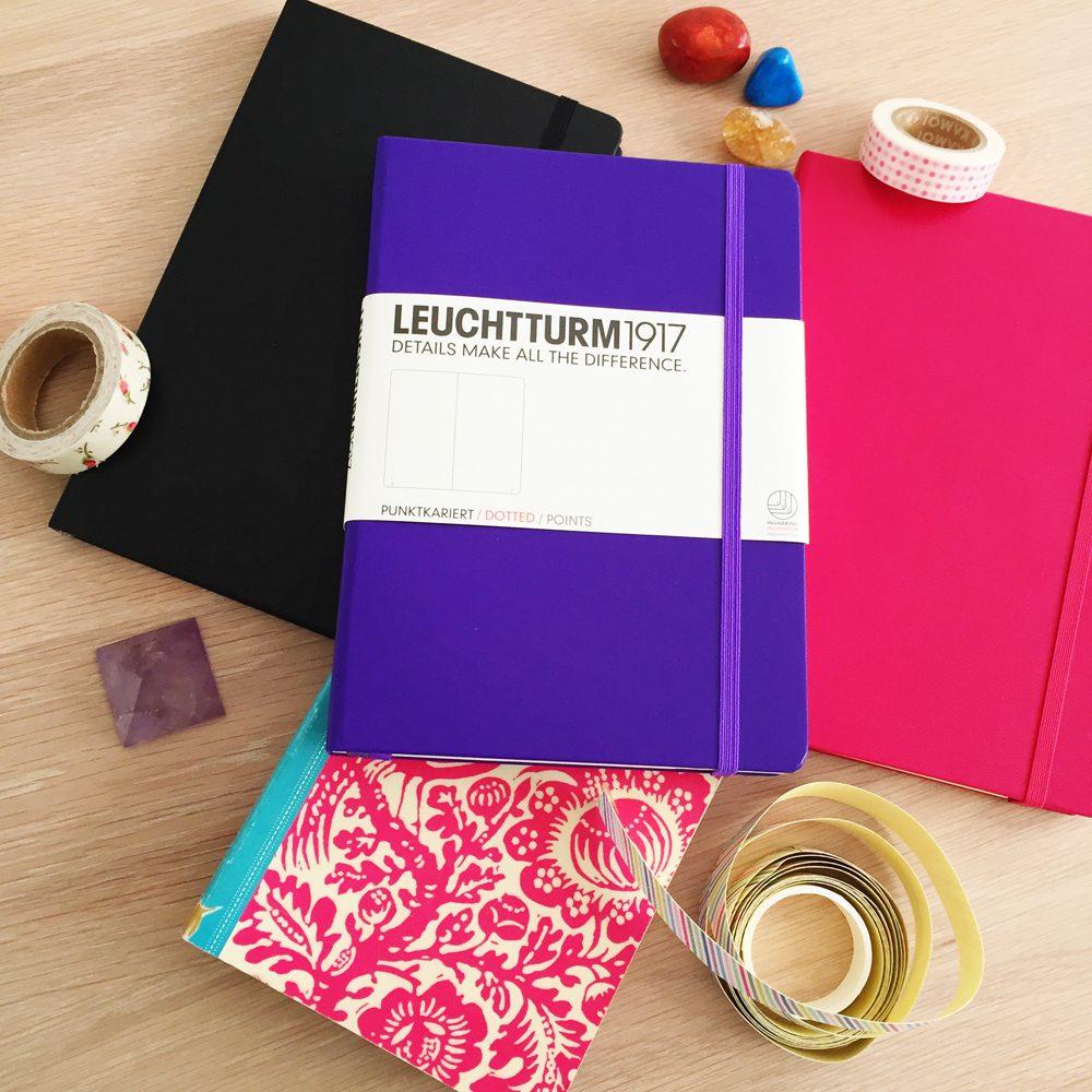 Bullet journal note books