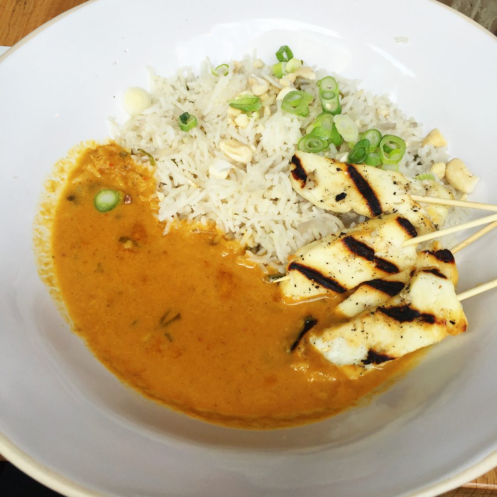 Coconut curry from cabana