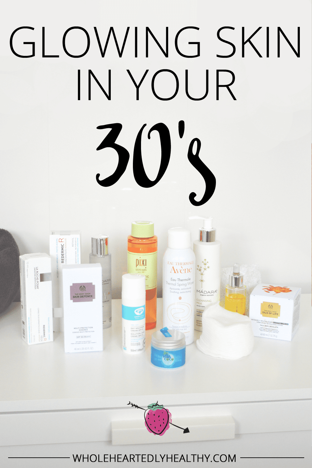Glowing skin in your 30 s