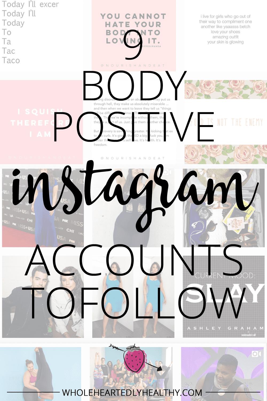 9 body positive instagram accounts to follow