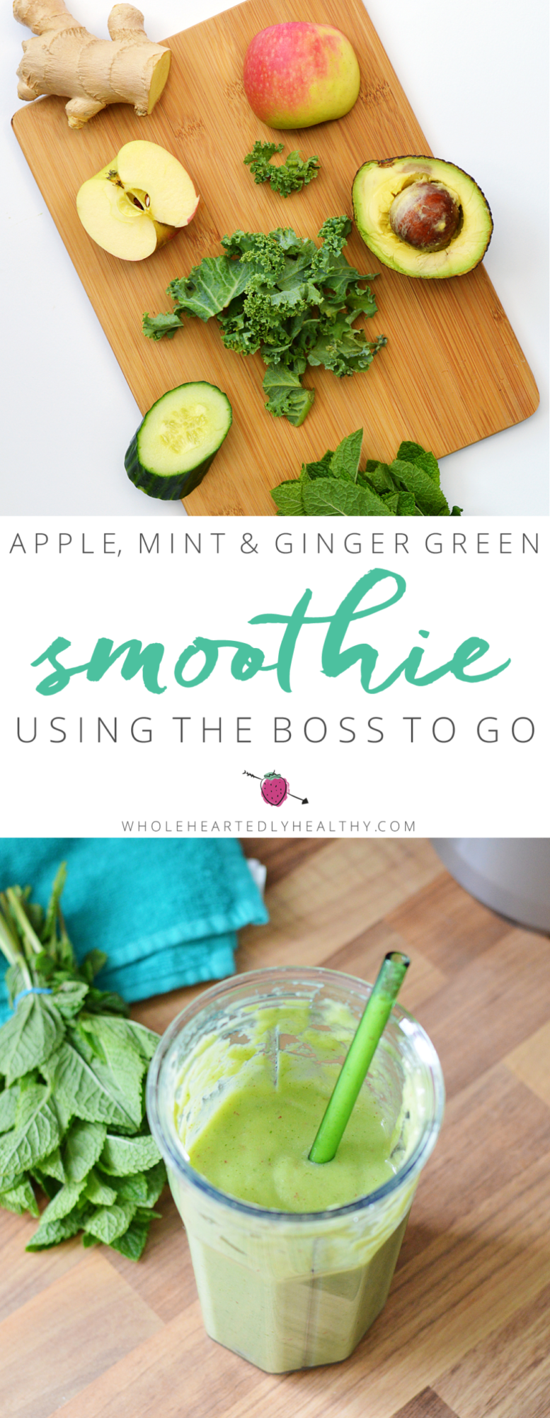 apple green smoothie recipe