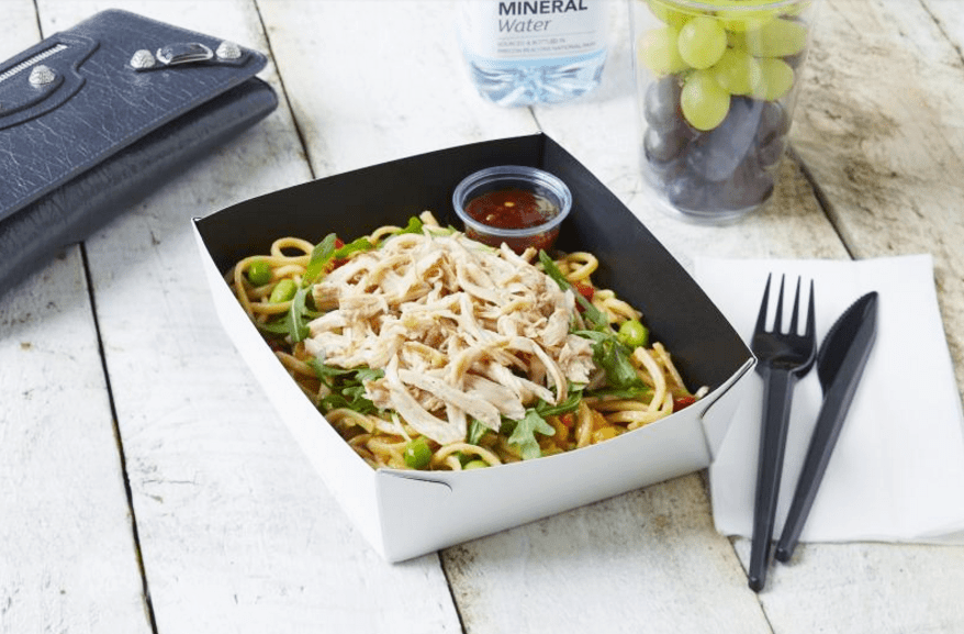 Greggs Teriyaki Chicken Noodle Salad